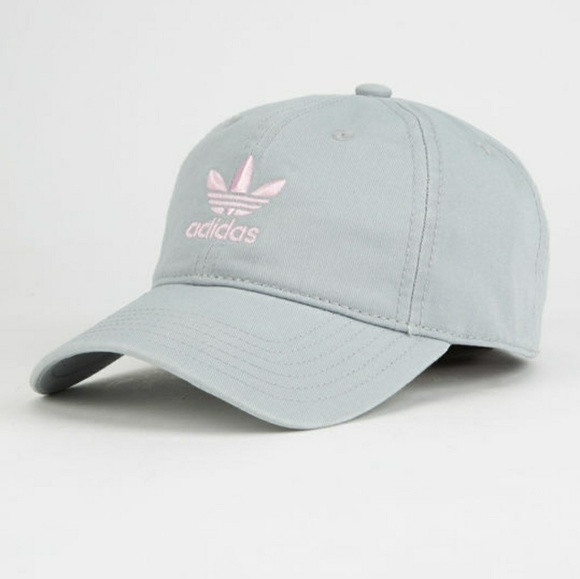 d669cfdc60e Adidas Grey and Pink Dad Hat
